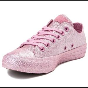 Limited edition pink glitter All-Star converse